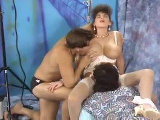 puno vintage, classic Mainit, threesome hottest
