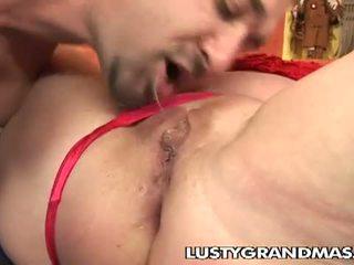 Lusty grandmas: mamãe etheleen, e papa obter para baixo e porcas