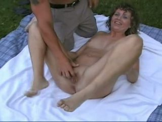 mmf, threesome, outdoor