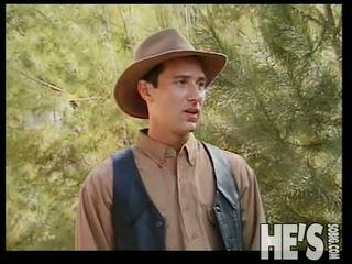Rabo adams fucks algunos caliente cowboy culo