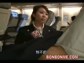 Stewardess fuck with passenger
