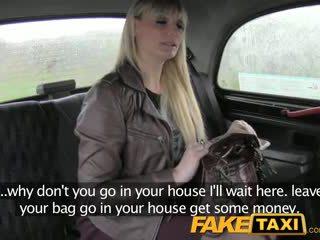 FakeTaxi Mum swallows more than her pride