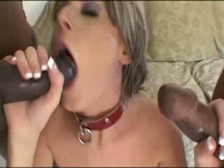 Two juodas šūdas matured mergaitė brutally
