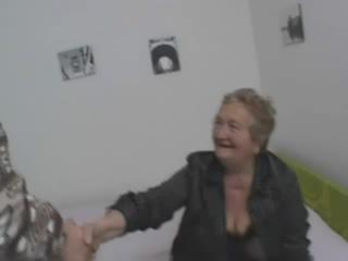 Sexy italština babička