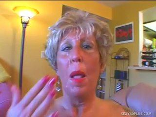 suck, aged, granny