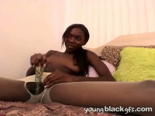 Tempting Teenage Black Girl Aisha Anderson
