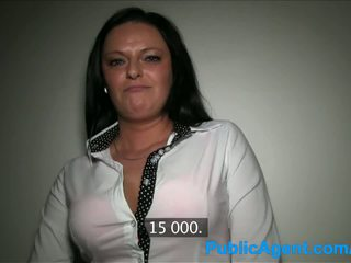 PublicAgent Busty milf has sex with a ...