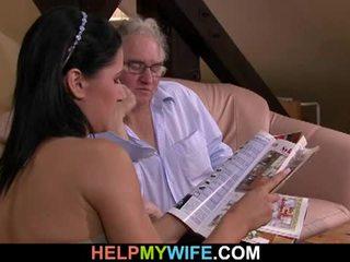 Hubby calls egy guy hogy fasz övé feleség
