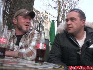 Cocksucking holland utcalány spoils túrista