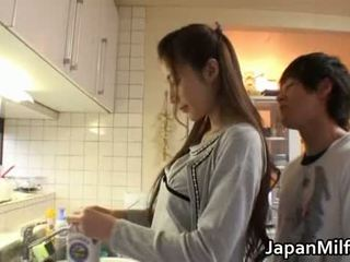 japán, szépség, anya