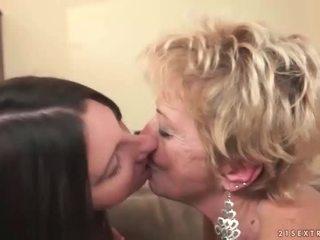 vecchio, lezzy, lesbiche