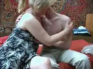 Vecchio mamma con da russia