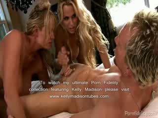 Holly halston tied gagged và fucked lược qua busty người bạn kelly madison
