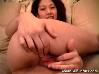 Asian Honey Dildo Fucks And Gets Pussy Licked