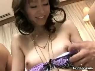 nice brunette fun, blowjob all, threesome quality