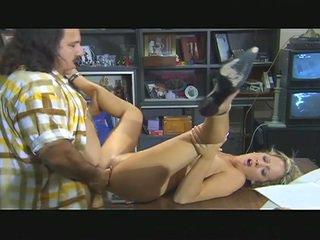 Ron jeremy bangs busty blonde