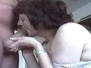 sucking cock, granny, blowjob