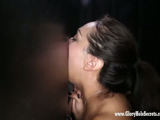 si rambut coklat, seks oral, deepthroat