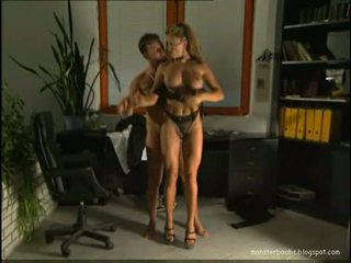blowjob, büro, anal