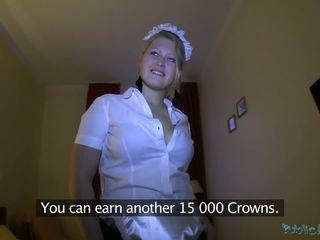Pokojówka gets paid na część chuj licking i tyłek pieprzenie pelasure