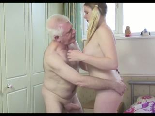 Heet oud man n jong teef