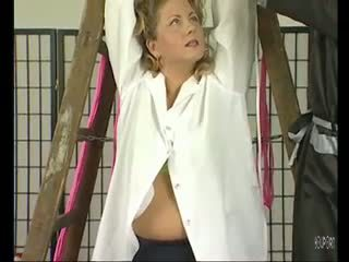 Busty milf getting tied up - Julia Reaves