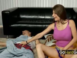 dad, blowjob, masturbation
