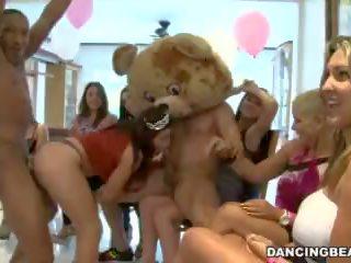 női barát, medve, blowjob