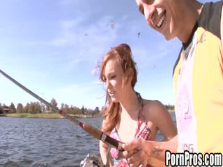 18 Years Old: 18 year old redhead cutie pounded hard
