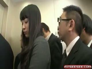 Muy sexy y caliente japonesa chica joder vídeo