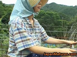 Chisato shouda asiatisk eldre kvinne gets