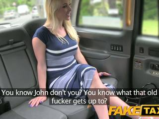FakeTaxi New driver gives blonde good anal