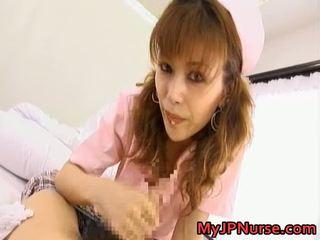 Akane hotaru heet aziatisch verpleegster is sexy