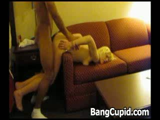 Blonde gets doggystyled and jizzed by ...