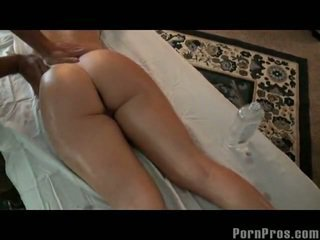 Busty Blonde Slut Massage