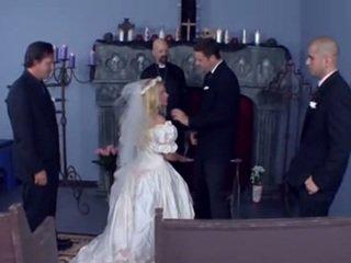 Wedding gangbang