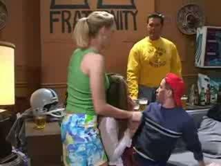 Katie morgan πάρει τους μεθυσμένος/η τότε bone τους σε ο κώλος!