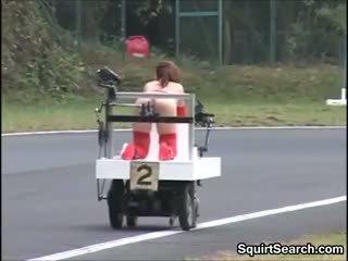 Jaapani keppimine masin race väljaspool