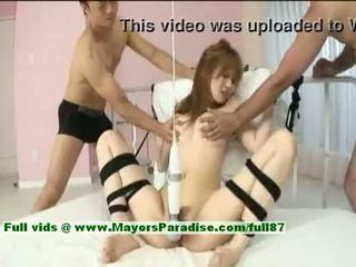 Erika Kurisu, Hot Asian Model Is Tied Up And Fondled