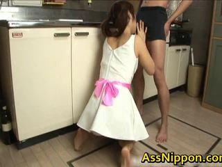 Ann takamiya アジアの floozy enjoys getting