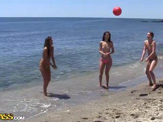 Vysoká škola sex párty pod the slnko heat na the pláž