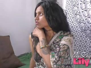हॉर्नी lily इंडियन bhabhi गड़बड़ द्वारा उसकी dewar: फ्री पॉर्न bf