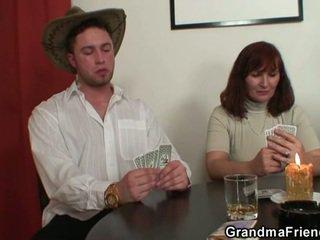 Στριπτίζ πόκερ leads να σκληρά τρίο