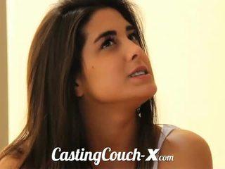 Casting kursi x: sensual brunette rumaja gets banged pov style