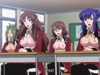 Exotisch campus, adventure hentai video- met uncensored groot
