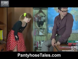 Awesome Pantyhose Tales Movie With Amazing Porn Stars Viola, Jaclyn, Marina