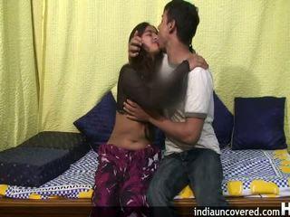 Amatir india remaja di dia pertama seks adegan