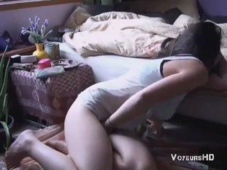 Chycený Masturbating