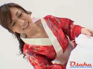 Geisha gives a royal pagsubo ng titi