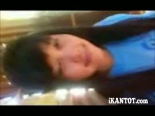 amateur, adolescente, asiático